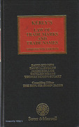 Cover of Kerly's Law of Trademarks and Trade Names 13th ed