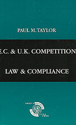 Cover of EC and UK Competition Law and Compliance