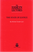 Cover of The Hamlyn Lectures: The State of Justice