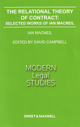 Cover of The Relational Theory of Contract: Selected Works of Ian Macneil