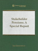 Cover of Stakeholder Pensions: A Special Report