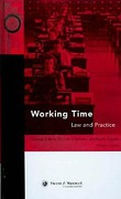 Cover of Working Time: The Law and Practice