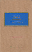 Cover of Gale on Easements 17th ed