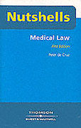Cover of Nutshells Medical Law
