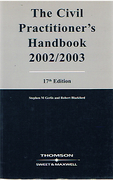 Cover of The Civil Practitioner's Handbook: 2002 - 2003