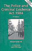 Cover of The Police and Criminal Evidence Act 1984 -