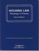 Cover of Housing Law Pleadings in Practice