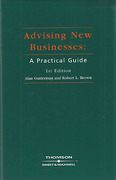 Cover of Advising New Businesses: A Practical Guide