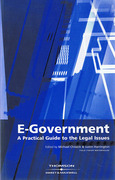 Cover of E-Government: A Practical Guide to the Legal Issues