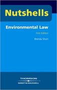 Cover of Nutshells Environmental Law (No New Edition)