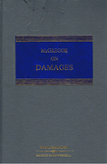 Cover of McGregor on Damages 17th ed