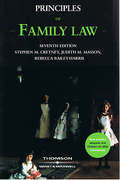 Cover of Principles of Family Law