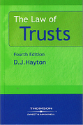 Cover of The Law of Trusts