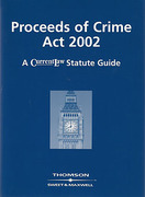 Cover of Proceeds of Crime Act 2002