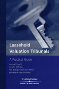 Cover of Leasehold Valuation Tribunals: A Practical Guide