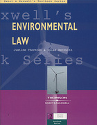 Cover of Textbook Series: Environmental Law