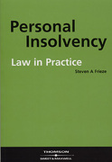 Cover of Personal Insolvency Law in Practice