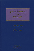 Cover of Judicial Remedies in Public Law