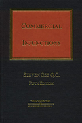 Cover of Commercial Injunctions