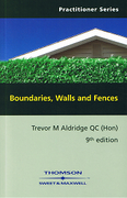 Cover of Boundaries Walls and Fences