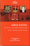 Cover of The Hamlyn Lectures: Judical Activism