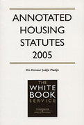 Cover of Annotated Housing Statutes 2005