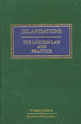 Cover of Dilapidations: The Modern Law and Practice 3rd edition with 1st Supplement