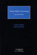 Cover of Trade Mark Licensing