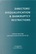 Cover of Directors Disqualification and Bankruptcy Restrictions