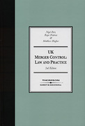 Cover of UK Merger Control: Law and Practice