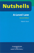 Cover of Nutshells A Level Law