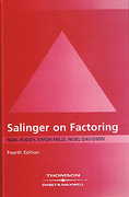 Cover of Salinger On Factoring: The Law and Practice of Invoice Financing