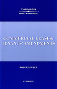Cover of Commercial Leases: Tenant's Amendments