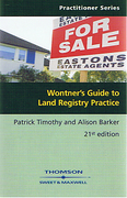 Cover of Wontner's Guide to Land Registry Practice