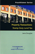 Cover of Property Transactions: Stamp Duty Land Tax