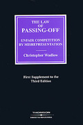 Cover of The Law of Passing-Off: Unfair Competition by Misrepresentation 3rd ed: 1st Supplement