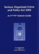 Cover of Serious Organised Crime and Police Act 2005