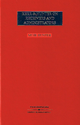 Cover of Kerr & Hunter on Receivers and Administrators 18th ed with 1st Supplement