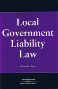 Cover of Local Government Liability Law