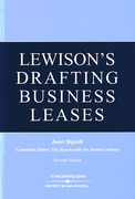 Cover of Lewison's Drafting Business Leases