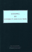 Cover of Estoppel by Conduct and Election