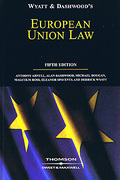 Cover of Wyatt and Dashwood: European Union Law