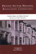 Cover of Private Sector Housing: Regulating Conditions