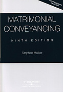 Cover of Matrimonial Conveyancing