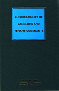Cover of Enforceability of Landlord and Tenant Covenants