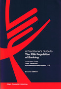Cover of Practitioner's Guide to the FSA Regulation of Banking