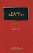 Cover of De Smith's Judicial Review 6th ed