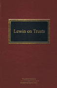 Cover of Lewin on Trusts 18th ed