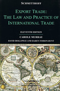 Cover of Schmitthoff's Export Trade: The Law and Practice of International Trade