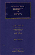 Cover of Intellectual Property in Europe
